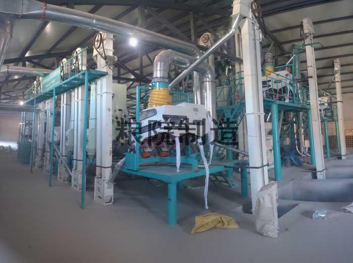 60吨玉米加工设备