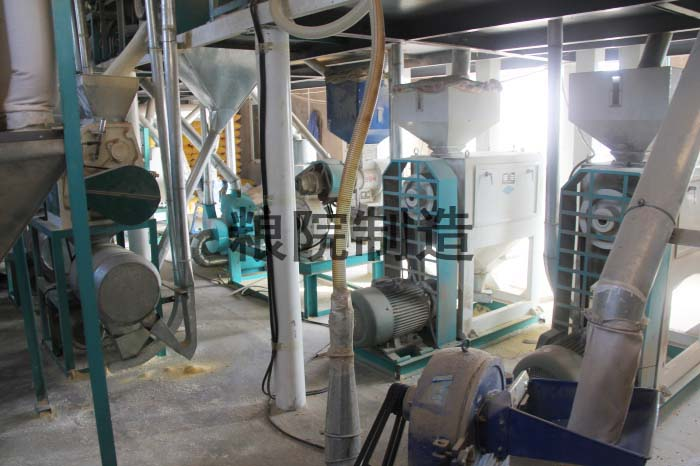 30吨玉米加工设备部分
