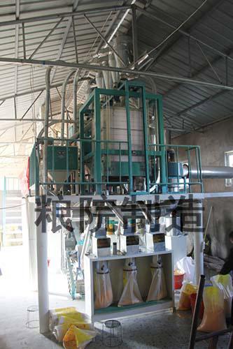 30吨玉米加工设备成品口
