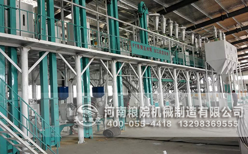 30吨玉米加工设备一角(3)